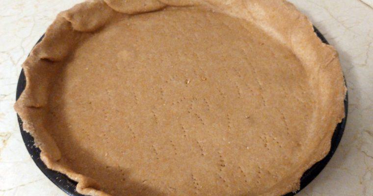 Masa para tartas de harina integral