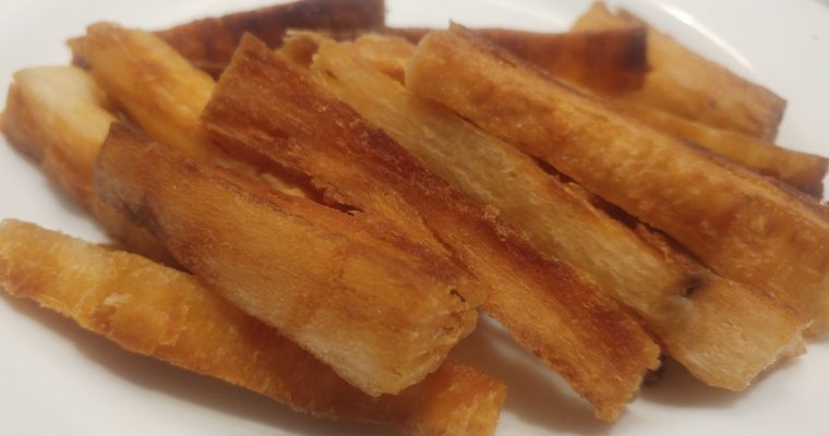 Mandioca (yuca) frita