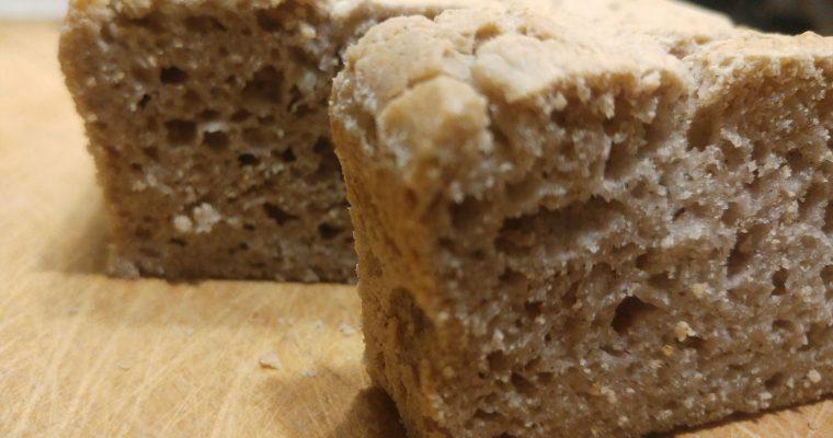 Pan casero de harina de Trigo Sarraceno