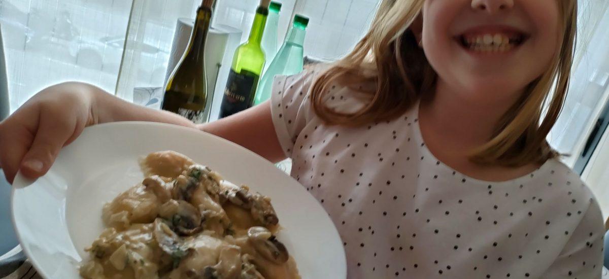 Cocina en familia: Mezzelune